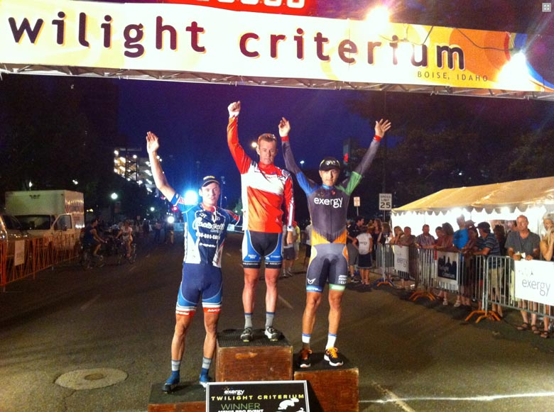 CashCall Boise 780 Boise Twilight Criterium 3rd place finish!
