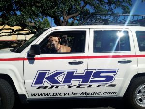 "Bicycle Medic Dog Corbin 300x225 Bicycle Medics Shop ""Ambulance"""