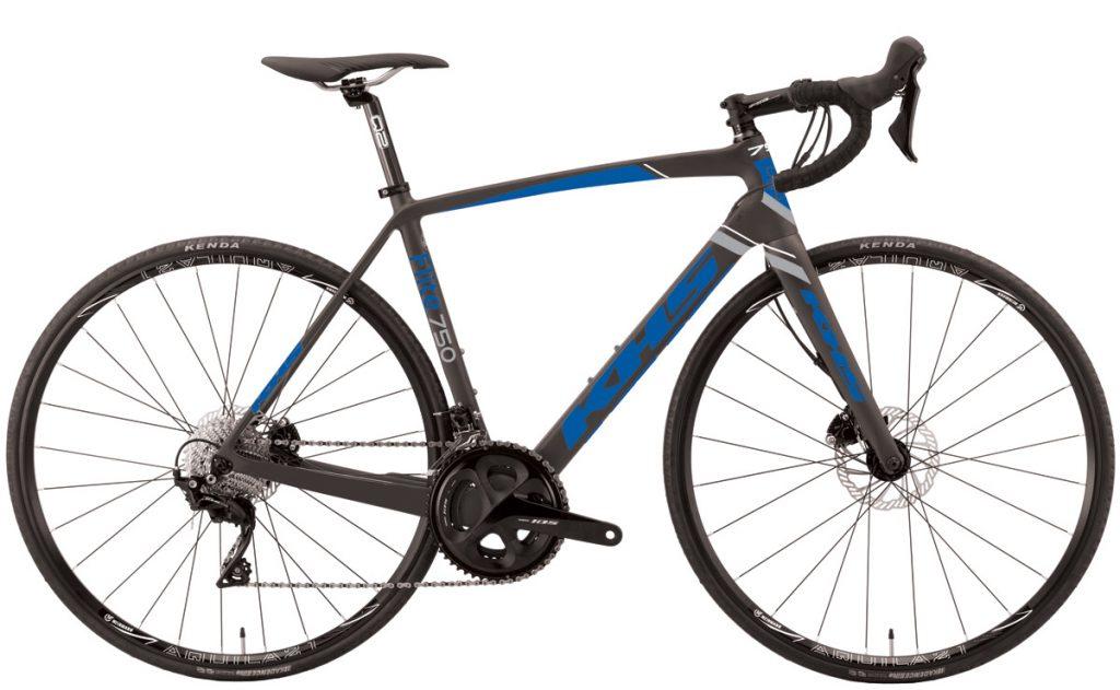 2021 KHS Bicycles Flite 750 Dark Gray