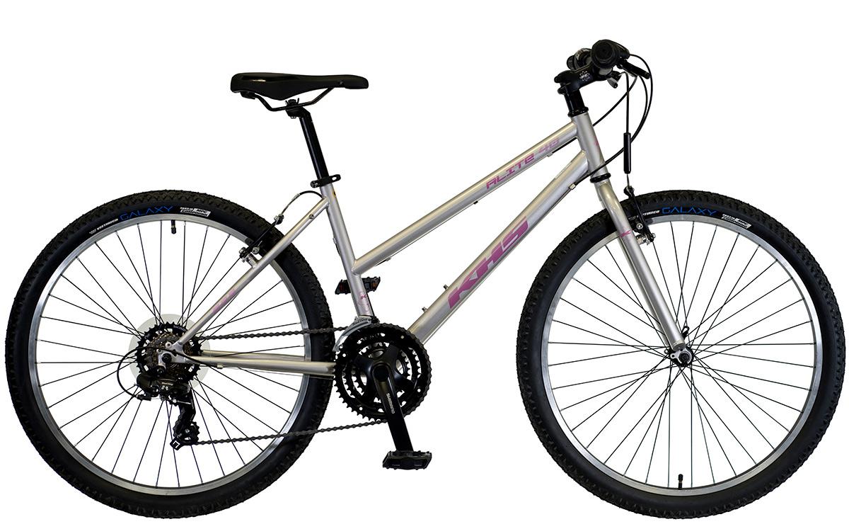 2021 KHS Bicycles Alite 40 Ladies Mid Silver