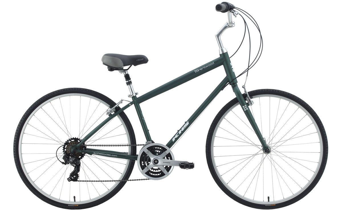 2021 KHS Bicycles Brentwood in Matte Green