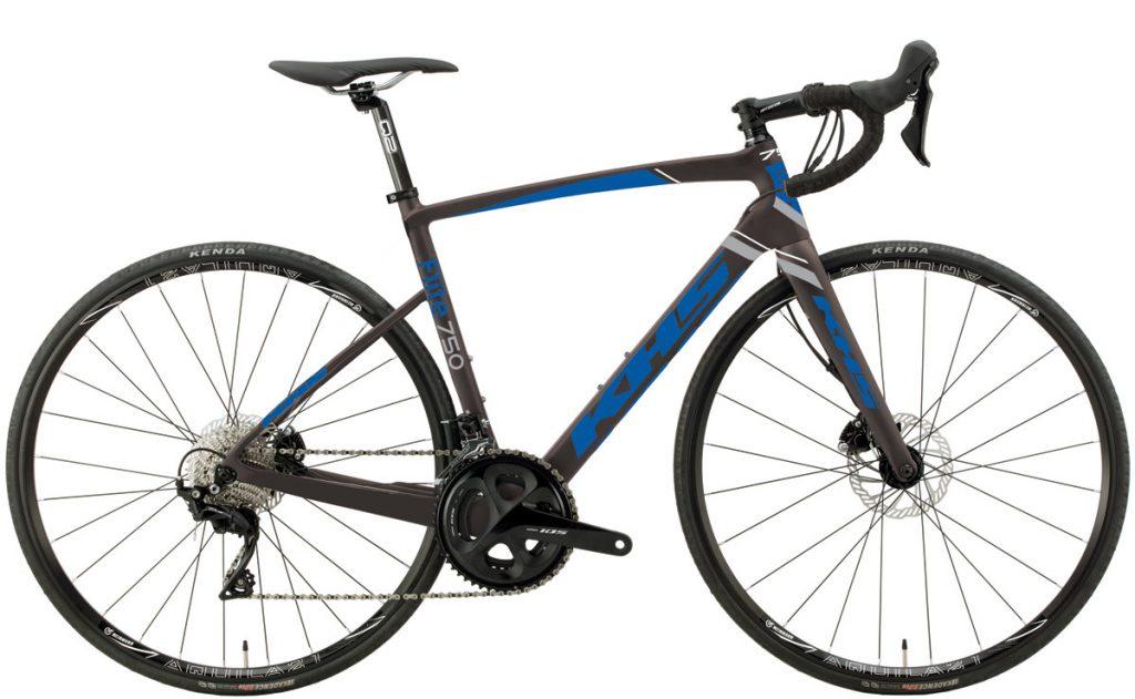2021 KHS Bicycles Flite 750 in Dark Gray