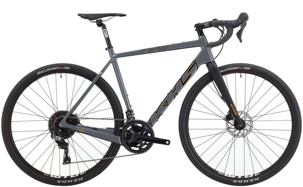 2021 KHS Bicycles Gritte 330 Matte Audi Gray