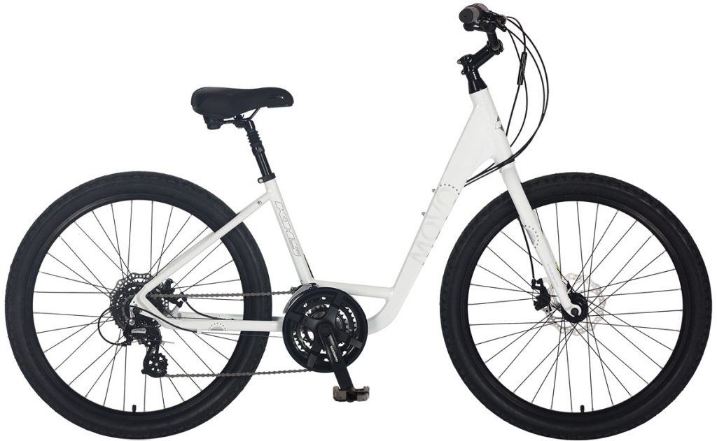 2021 KHS Bicycles Movo 1.0 Step-Thru in Creamy White