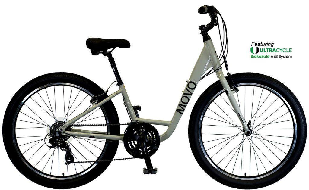 2021 KHS Bicycles Movo Zer.0 Step-Thru in Mute Gray