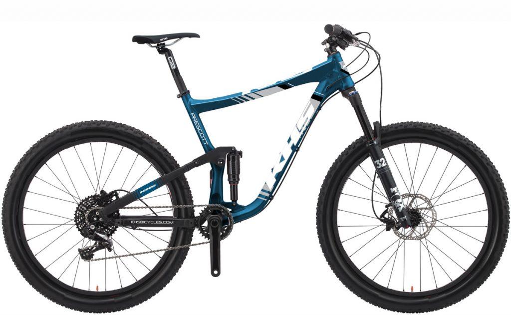 2021 KHS Bicycles Prescott Metallic Blue