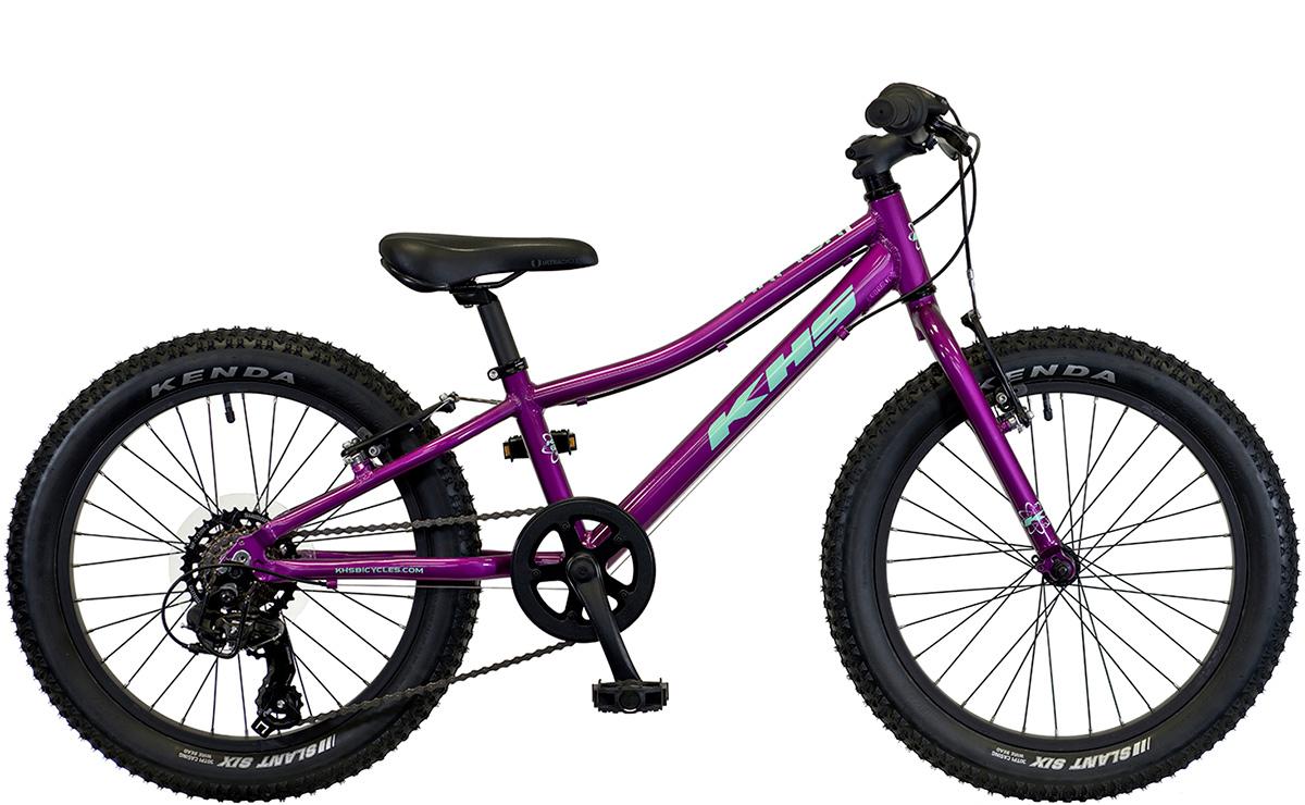 2021 KHS Bicycles Raptor Plus Girls in Berry