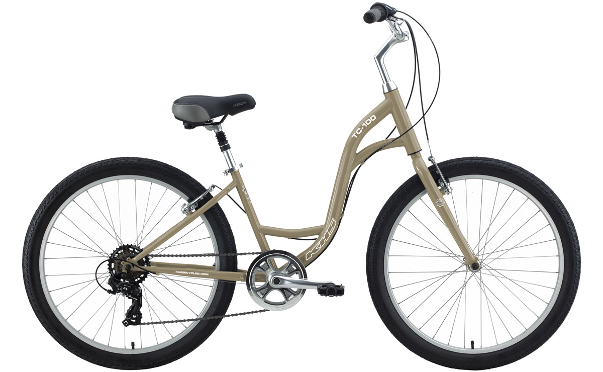 2021 KHS Bicycles TC 100 Step-Thru in Goldie Fawn