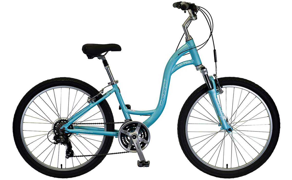 2021 KHS Bicycles TC 150 Step-Thru in Ice Blue