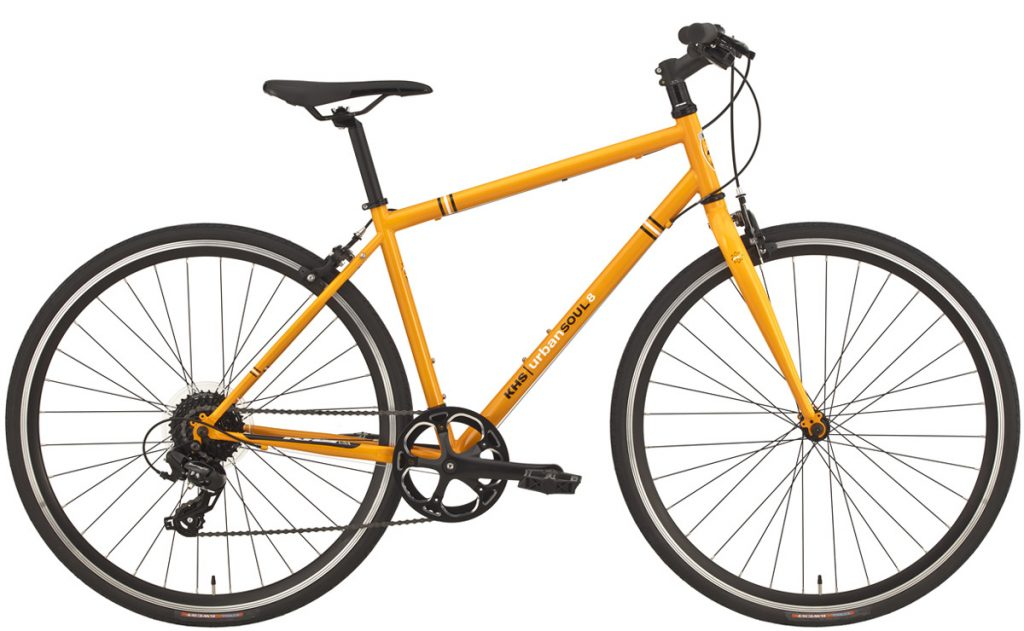 2021 KHS Bicycles Urban Soul 8 in Bright Orange