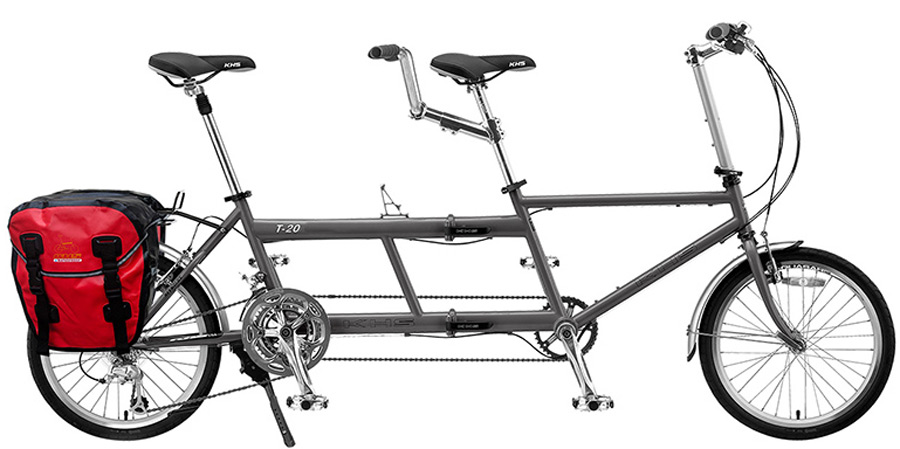 2021 KHS Bicycles Americano Tandem in Gray