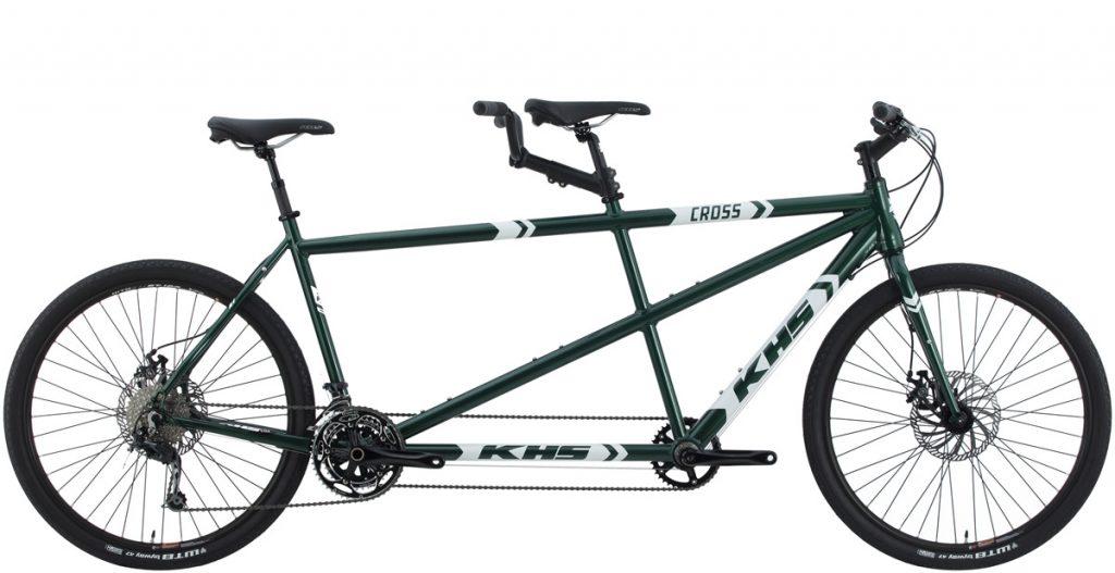 2021 KHS Bicycles Cross Tandem in Green
