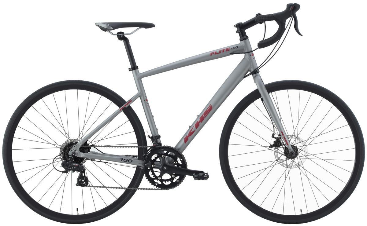 2022 KHS Bicycles Flite 150 in Matte Gray