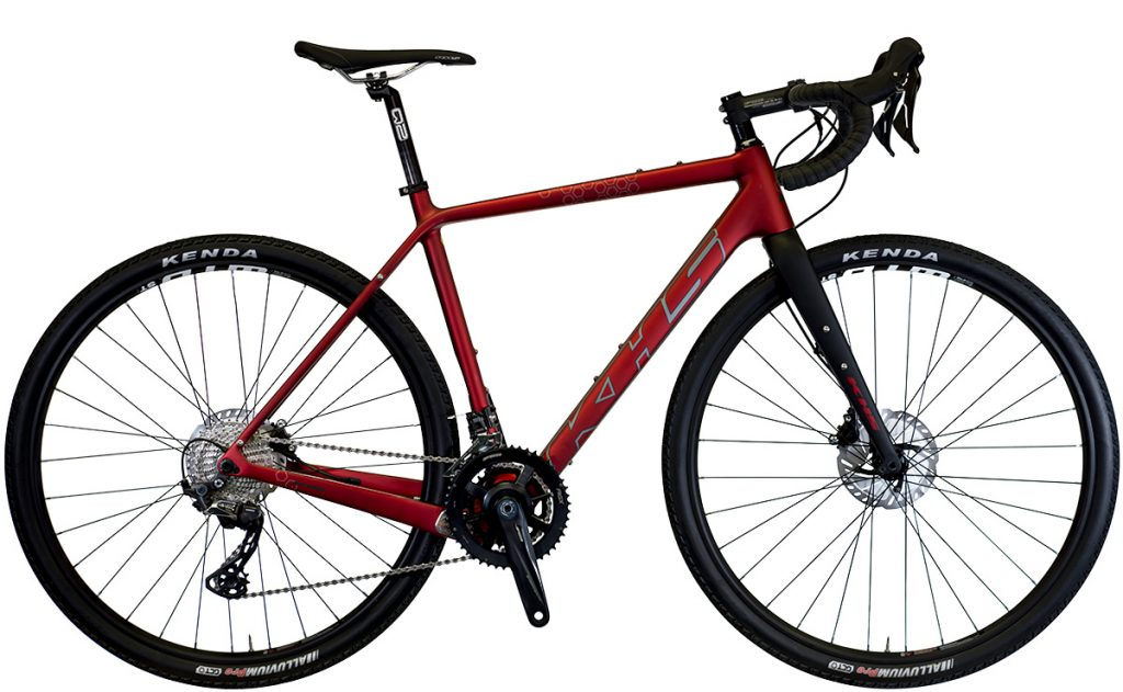 2022 KHS Bicycles Grit 440 in Metallic Red