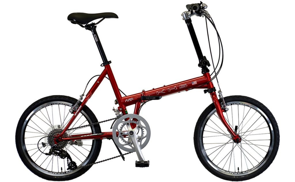 2022 KHS Bicycles Mocha in Red
