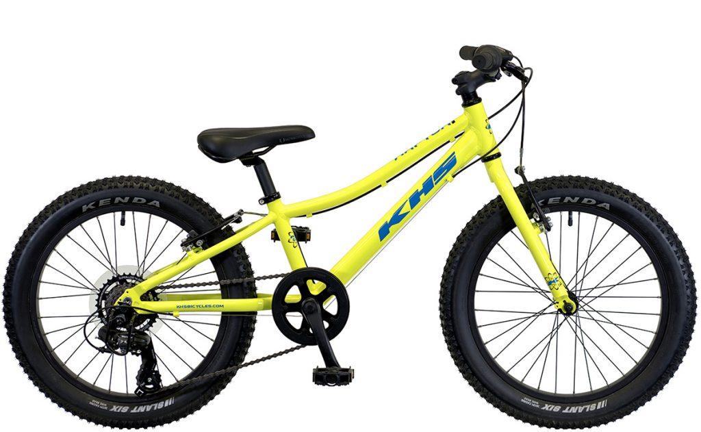 2022 KHS Bicycles Raptor Plus in Neon Yellow