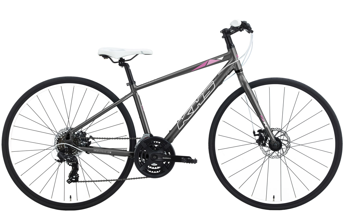 2022 KHS Bicycles Vitamin A Ladies in Matte Gray
