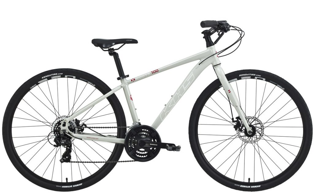 2022 KHS Bicycles X-Route 100 Men's in Light Gray
