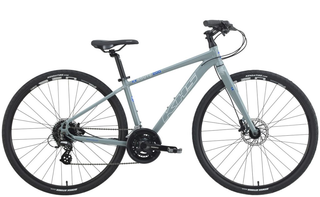 2022 KHS Bicycles X-Route 200 Men's in Mid Gray