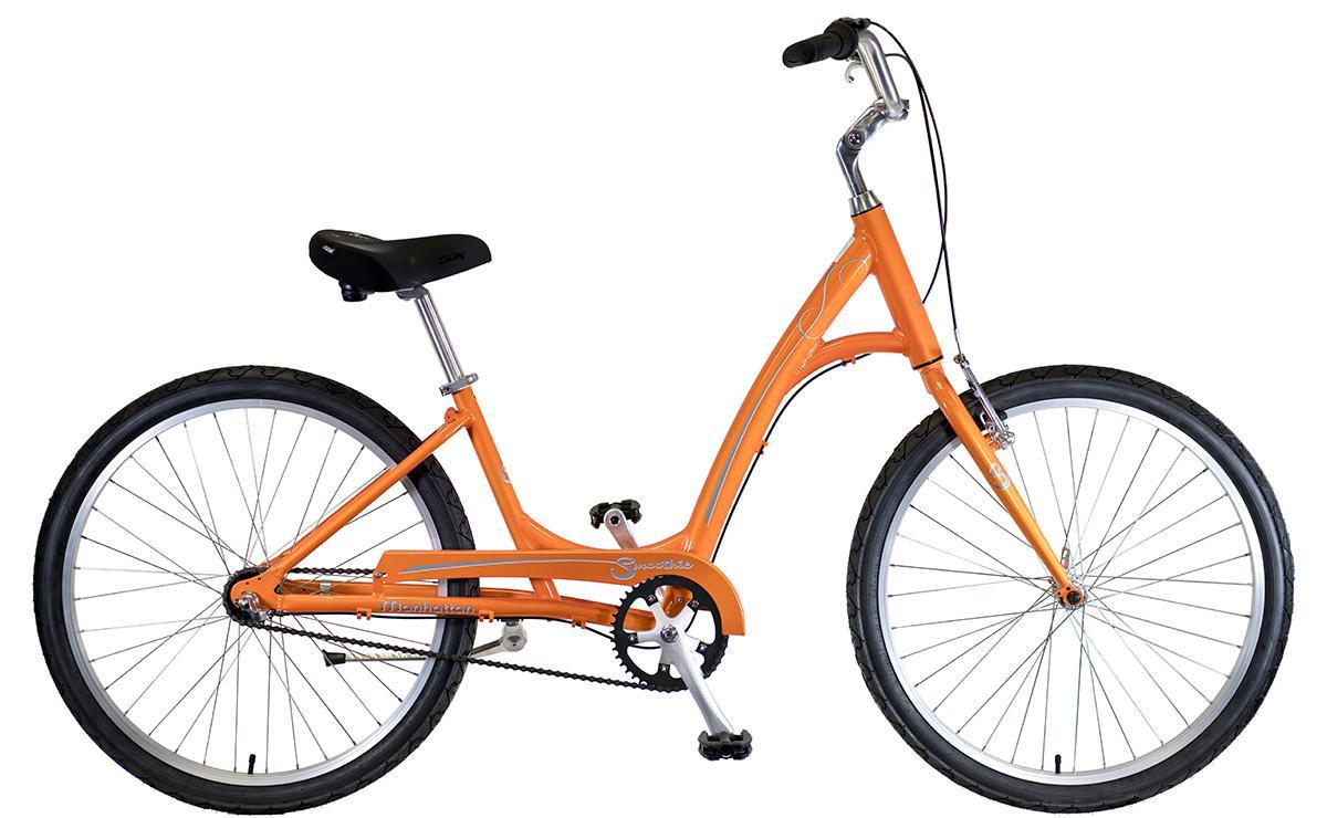 2022 Manhattan Cruisers Smoothie 3 Ladies in Tangerine